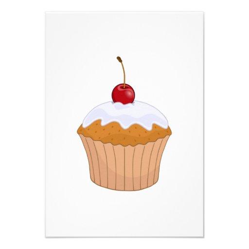Cupcake Convite
