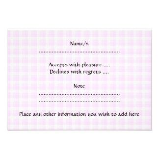 Cupcake cor-de-rosa bonito convite personalizado