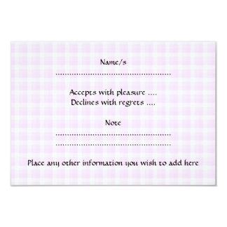 Cupcake. cor-de-rosa bonito convite 8.89 x 12.7cm