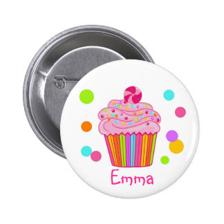 Cupcake da surpresa dos doces pins