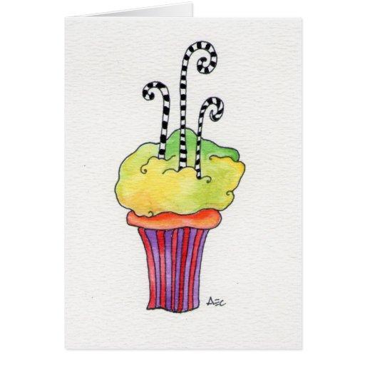 Cupcake de Whimsycake Cartoes