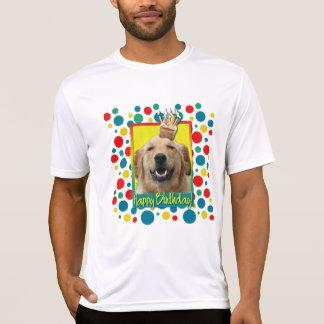 Cupcake do aniversário - golden retriever - Mickey T-shirts