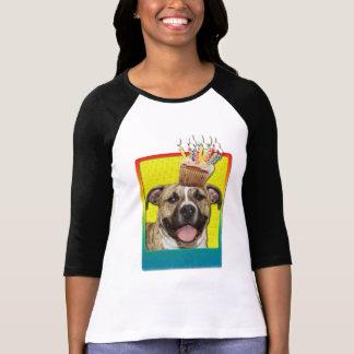 Cupcake do convite - Pitbull - Tigger Camisetas