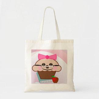 Cupcake para o professor bolsa