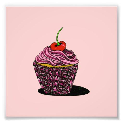 Cupcake - rosa foto