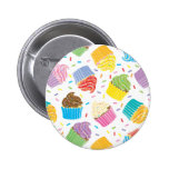 Cupcakes coloridos boton