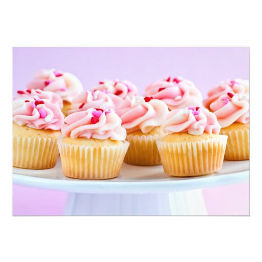Cupcakes Convite Personalizado