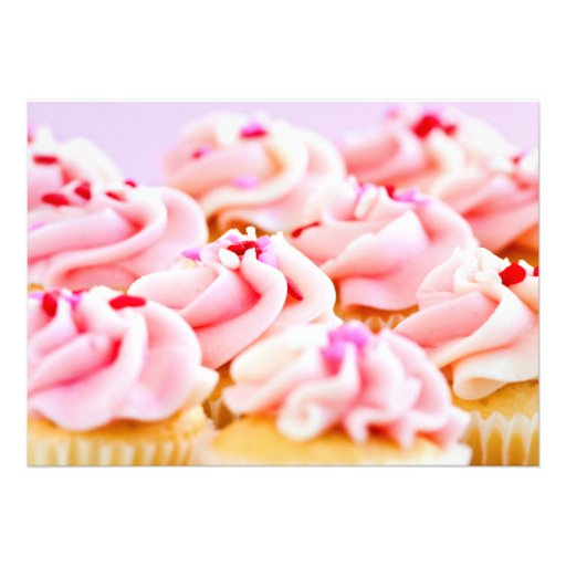 Cupcakes Convite Personalizados