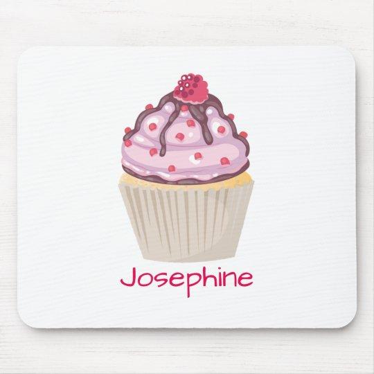 Cupcakes cor-de-rosa da baga mouse pad