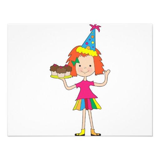 Cupcakes de Kiddle 1 Convite Personalizado