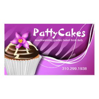 Cupcakes do pop da zebra - roxo do ombre