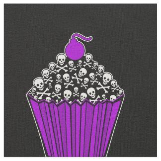 +{Cupcakes saborosos do crânio}+ Tecido