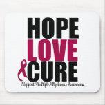 Cura do amor da esperança do mieloma múltiplo mousepad