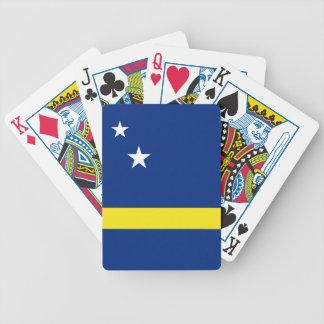 Curaçau embandeira baralhos para pôquer