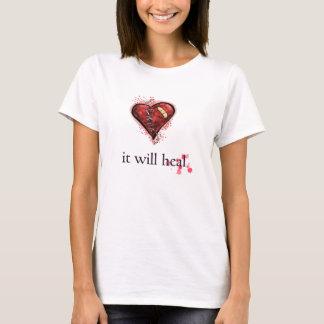 """""""Curará"""" a camisa do coração quebrado"""