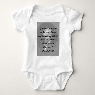 Curiosidade - Daniel Boone Body Para Bebê