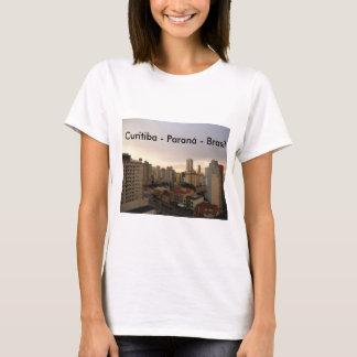 Curitiba no peito tshirts