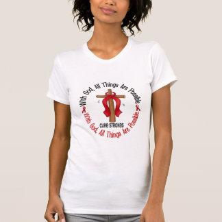 Curso COM CRUZ 1 do DEUS Camiseta