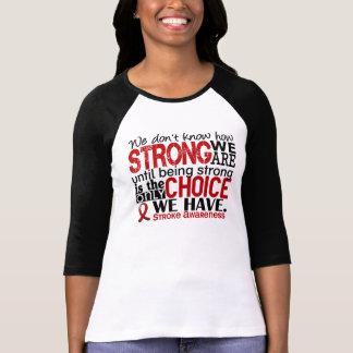Curso como forte nós somos tshirts