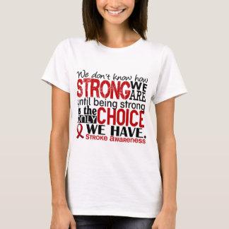 Curso como forte nós somos camiseta