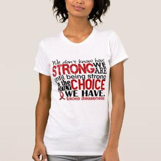 Curso como forte nós somos t-shirt
