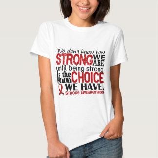 Curso como forte nós somos tshirt