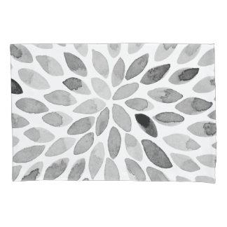 Cursos da escova da aguarela - preto e branco
