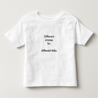 Cursos diferentes t-shirts