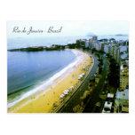 Curva de Copacabana, Rio de Janeiro, Brasil Cartao Postal