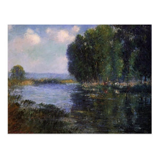 Curvatura do rio de Gustave Loiseau- em Normandy Cartões Postais