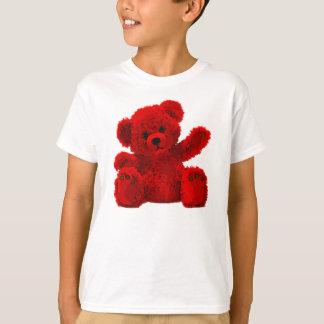 Cute ursinho de pelúcia Bear, bichinho de Camiseta