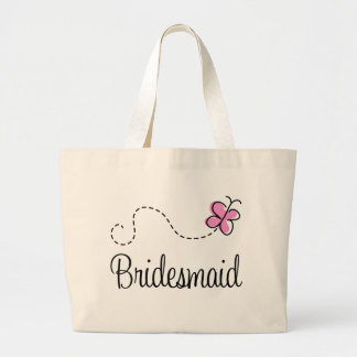 Cute Wedding Party Bridesmaid Tote Bag