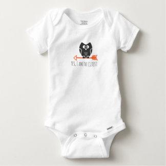 cuteowl body para bebê