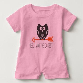 cuteowl macacão para bebê