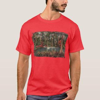 Cypress jardina camisa dos homens de Florida
