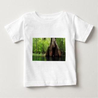 Cypress oco maciço camiseta para bebê