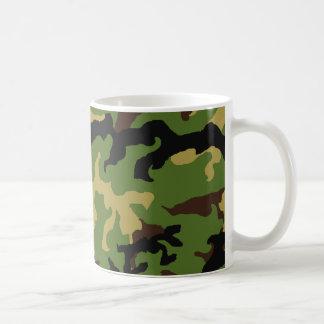 """Da """"caneca do tributo militar camuflagem"""" caneca de café"""