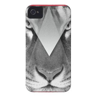 Da cara surpreendente do gato de tigre de Wellcoda Capinha iPhone 4