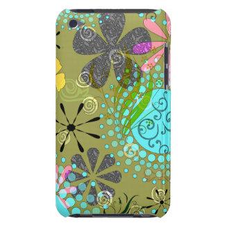 Da case mate ipod touch floral retro Ca de There™  Capa Para iPod Touch