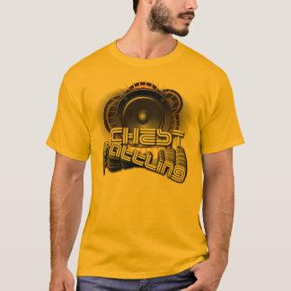 """Da """"chocalho caixa """" camiseta"""
