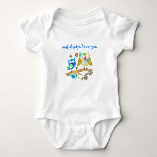 Da coruja camisa Você-Bonito das crianças & das