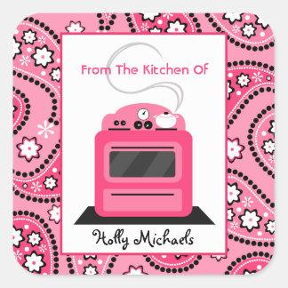 Da cozinha… de Paisley cor-de-rosa & do fogão