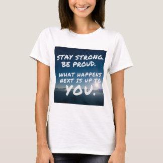 """Da """"Das mulheres inspiradas fortes das citações Camiseta"""