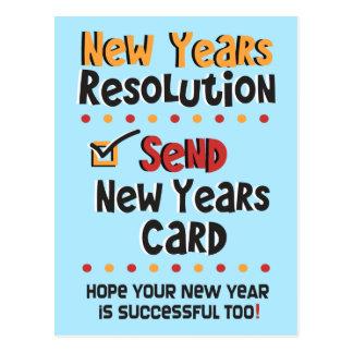 Da definição do © do ano novo o ano novo engraçado cartões postais