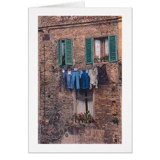 """Da """"dia lavanderia cartão fotográfico de Italia"""""""