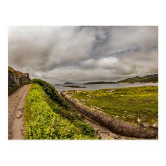 """Da """"estrada costa, cartão de Ireland"""""""