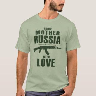 Da mãe Rússia com a camisa do amor AK (homens)