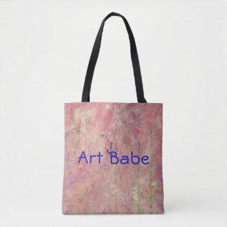 """Da """"O bolsa abstrato do rosa do borracho arte"""" do"""