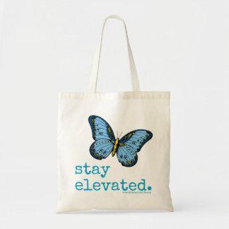 """Da """"O bolsa azul elevado da borboleta estada"""""""