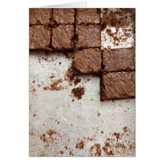 """Da """"O cartão das brownies ânsia"""